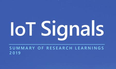 Microsoft publica un informe denominado 'IoT signals'